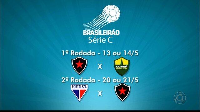 CBF divulga tabela básica da Série C; confira os jogos do Botafogo-PB