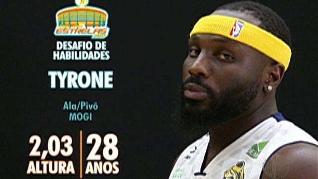 Tyrone vai representar o Mogi no Desafio de Habilidades do Jogo das Estrelas do NBB