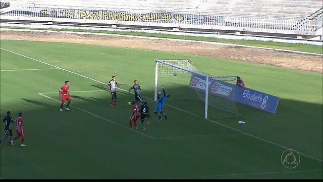 Botafogo-PB tropeça no Inter-PB e apenas empata no Almeidão