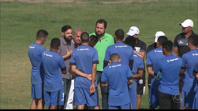 Treze treina no fim de semana após ameaça de greve dos jogadores