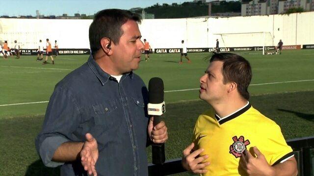Jogador de futsal do Corinthians com síndrome de down diz que já marcou gol no Cássio