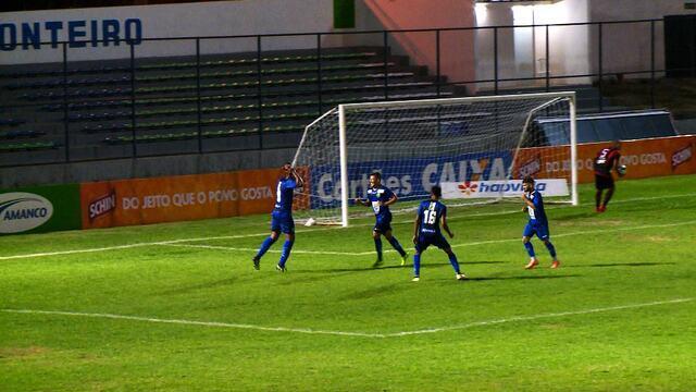 Os gols de Altos 4 x 3 Moto Club pela Copa do Nordeste