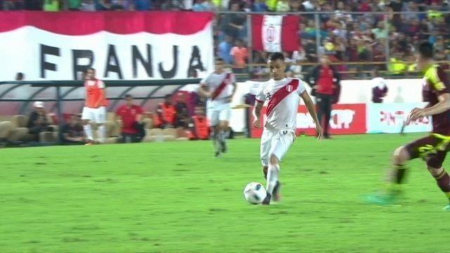 Peru e Venezuela empatam em 2 a 2 pelas Eliminatórias da Copa