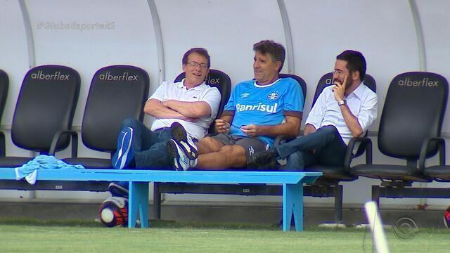 Grêmio apresenta André Zanotta como novo gerente executivo de futebol