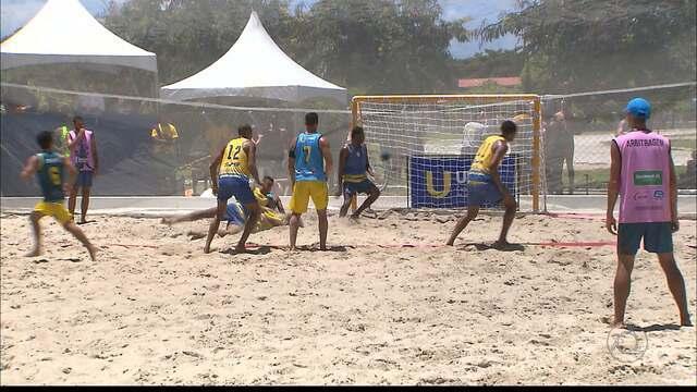 Handebol de areia vive momento especial no país depois de virar esporte olímpico