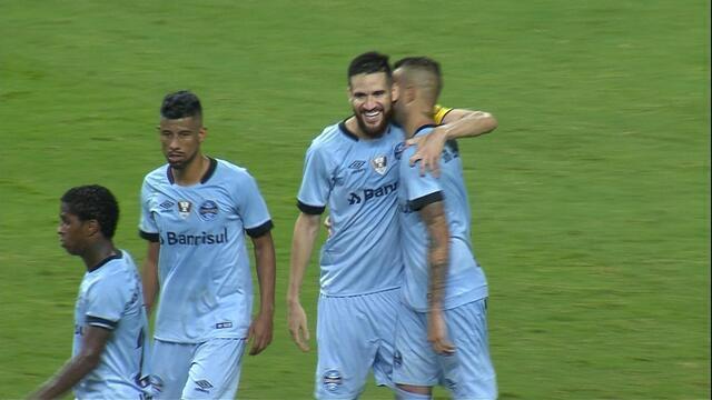 Confira os melhores momentos da partida entre Grêmio 4x0 Juventude