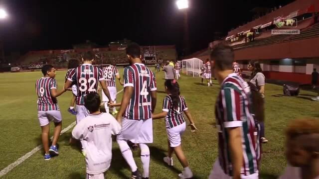 Confira os bastidores de Fluminense 3 x 0 Macaé pela Taça Rio