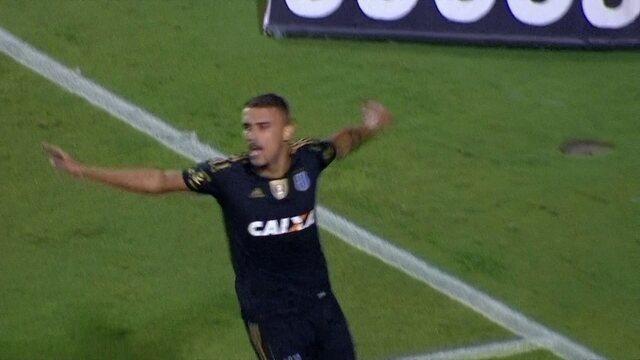 Os gols de Santos (4) 1 x 0 (5) Ponte Preta pelas quartas de final do Campeonato Paulista