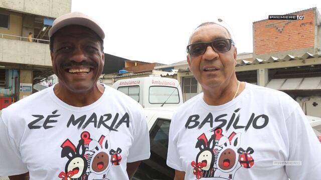 Vai, Corinthians - Zé Maria e Basílio participam de ação no Hospital Santa Marcelina