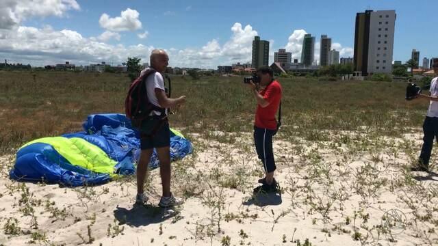 Paraquedistas participam do tradicional Torneio de Tiradentes em João Pessoa