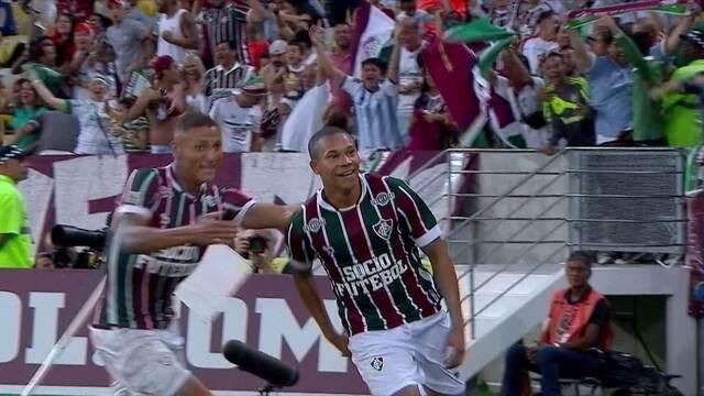 Os gols de Fluminense 3 x 0 Vasco pela semifinal do Campeonato Carioca