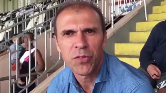 Milton Mendes acompanha vitória do Sub-20 do Vasco sobre o Flamengo