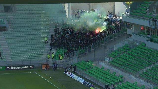 BLOG: Torcedores do Saint-Étienne invadem jogo de portões fechados contra o Rennes