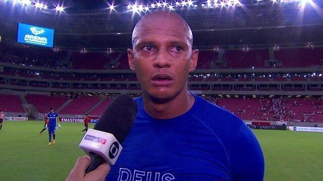 Tiago Cardoso lamenta eliminação do Náutico e já projeta Série B