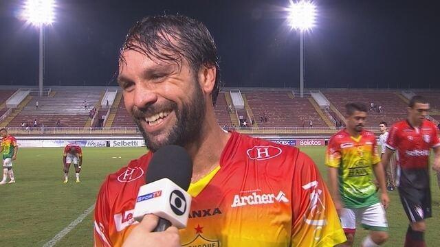 Ricardo Lobo comemora vitória do Brusque e diz que time termina o Catarinense bem