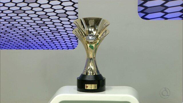Globo Esporte apresenta em primeira mão a taça de campeão paraibano de 2017