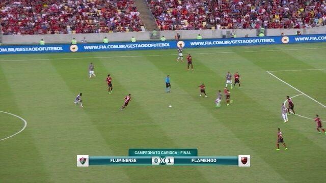 Lédio diz que Flamengo foi melhor, mas sentiu a parte física no segundo tempo