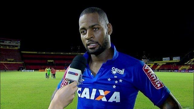 """Dedé, sobre empate do Cruzeiro diante do Sport: """"Perdemos dois pontos"""""""