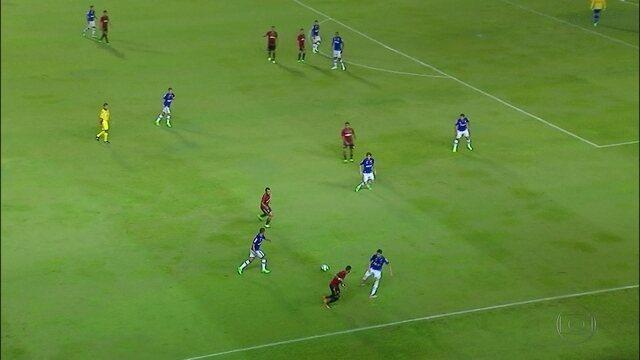 Sport tropeça em casa e fica no empate com o Cruzeiro