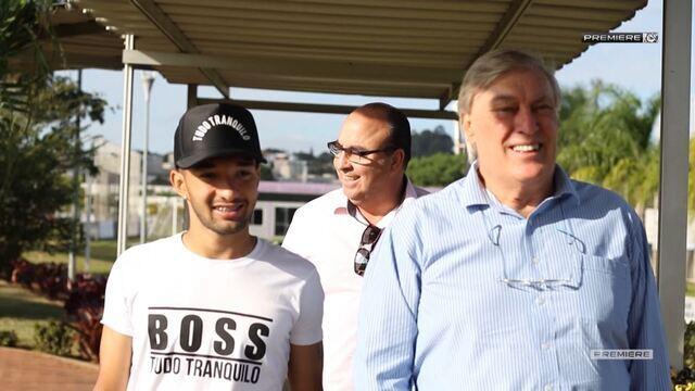 Vai, Corinthians - Apresentação de Clayson, novo reforço do clube