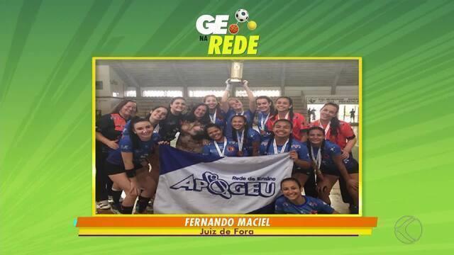 GE na Rede tem vitória de juiz-foranas no handebol e jogo beneficente em Lima Duarte