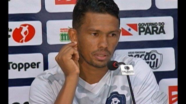 Nino Guerreiro fala sobre jogar pela primeira vez diante da torcida azulina