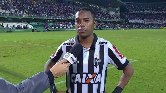 """Mesmo após derrota para o Paraná, Robinho está confiante: """"Temos condições de ganhar"""""""