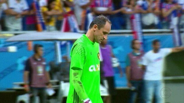 Mesmo confiando em Magrão, torcida do Sport voltou de Salvador sem ter o que comemorar