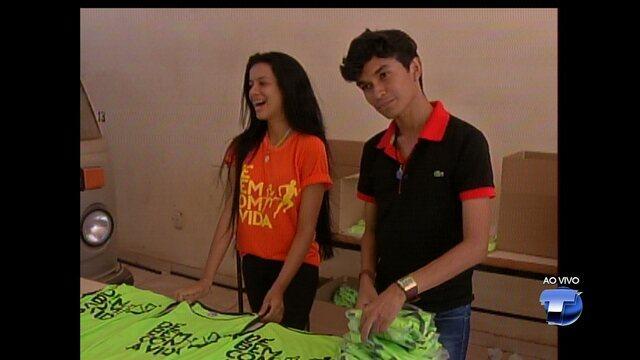 De Bem Com a Vida: STC realiza entrega de kits a participantes do evento