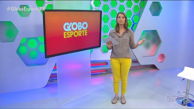 Veja a edição na íntegra do Globo Esporte Paraná de sexta-feira, 26/05/2017