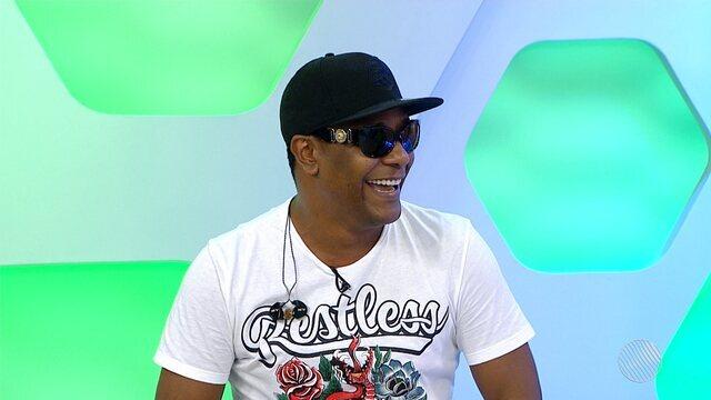 Márcio Victor fala participação da festa do tricampeonato do Bahia, na quarta-feira (24)