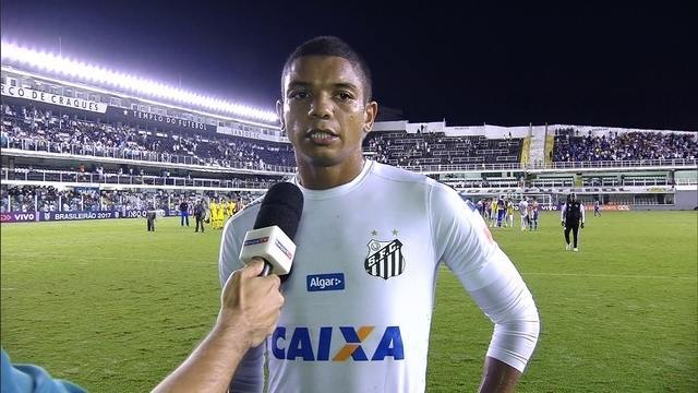 David Braz explica derrota do Santos para o Cruzeiro na Vila Belmiro