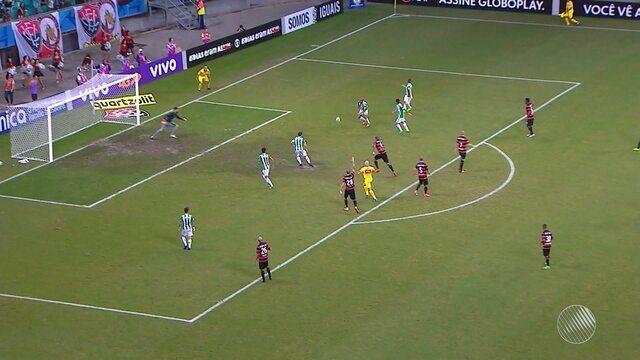 Vitória perde a segunda partida seguida na Arena Fonte Nova, no último sábado (27)