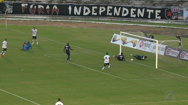 Botafogo-PB bate o líder CSA, vence a primeira na Série C e cola no G-4