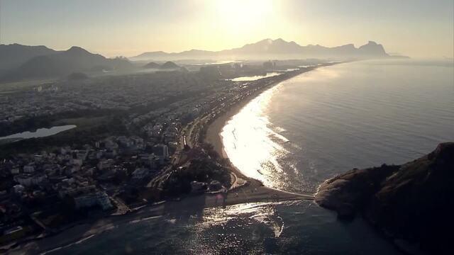 Confira imagens aéreas da Maratona do Rio