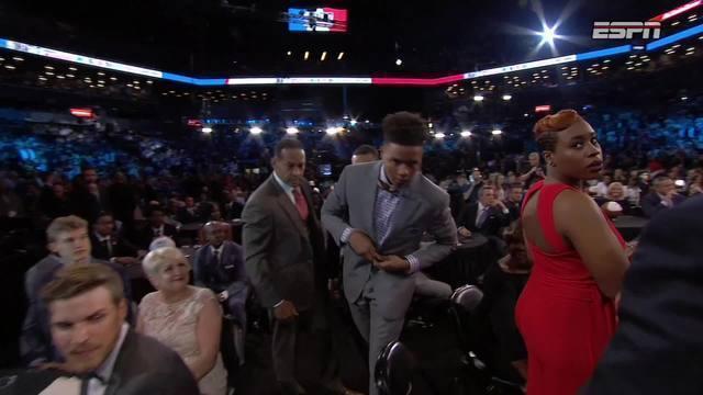 Markelle Fultz é a primeira escolha do draft da NBA