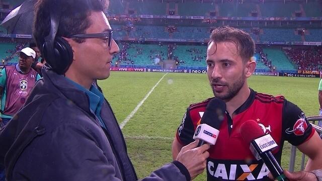 Éverton Ribeiro fala sobre estreia pela Flamengo