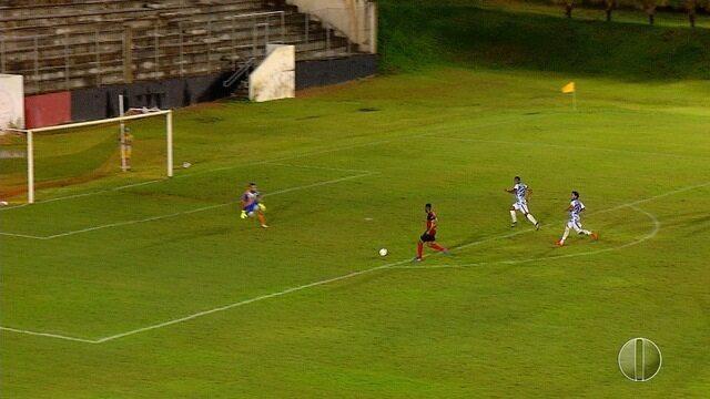 Pela Série D, Globo vence Parnahyba por 2 a 0 e se classifica em primeiro lugar no grupo