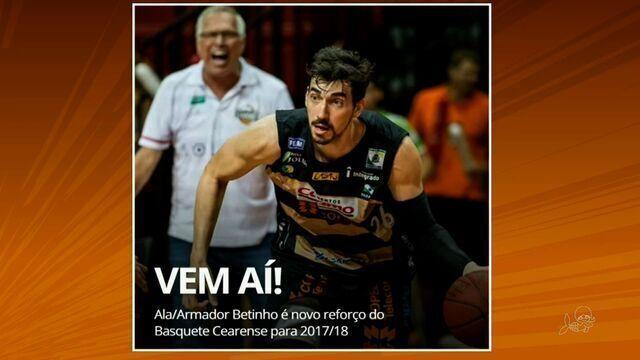 Basquete Cearense contrata ala/armador Betinho
