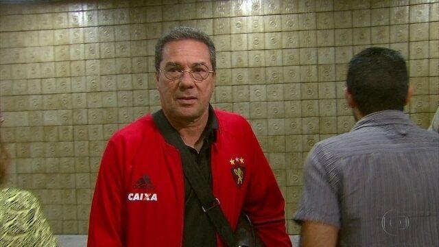 Sport chega ao Recife de olho no Atlético-GO