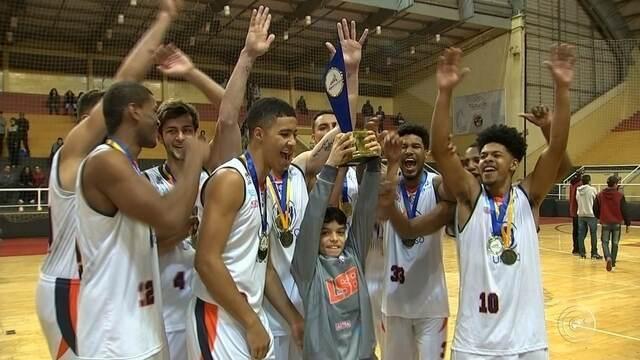 Vencido pela LSB, basquete masculino é a primeira modalidade com medalhas nos Regionais