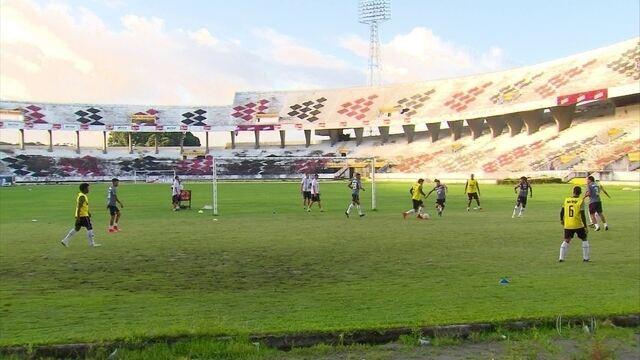 Santa Cruz se prepara para encarar o Paraná, pela Série B
