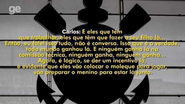 Gravação mostra negociação de suborno na base do Corinthians