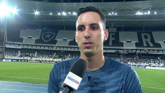 """Gatito Fernández comemora vitória e diz que time conseguiu """"mudar a chave"""" da competição"""
