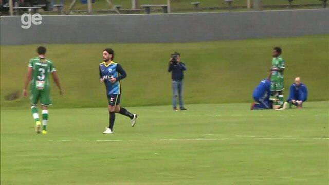 Veja os gols de Londrina 3x1 Arapongas, em jogo-treino