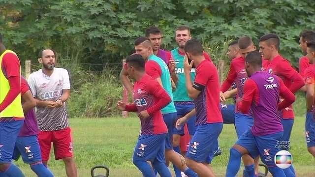 """Sem Erick, Náutico continua preparação em semana """"de folga"""""""