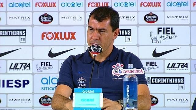 Assista à entrevista de Fábio Carille na íntegra, após primeira derrota do Corinthians