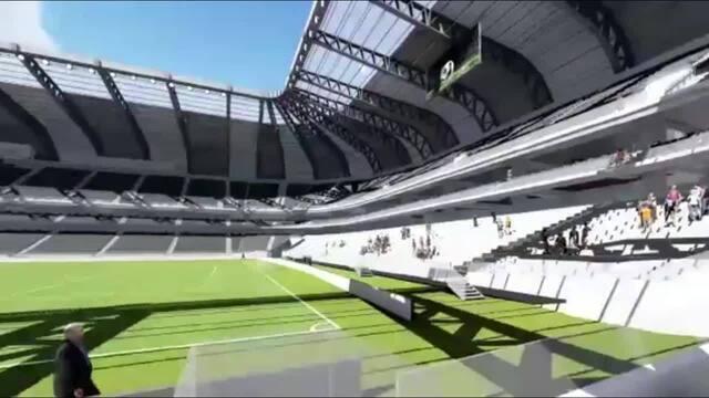 Atlético-MG mostra projeto de futuro estádio, que será avaliado pelo conselho