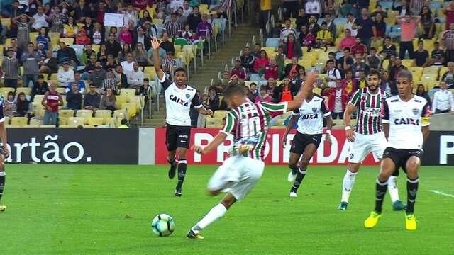 Melhores momentos: Fluminense 2 x 1 Atlético-MG pela 21ª rodada do Brasileirão 2017