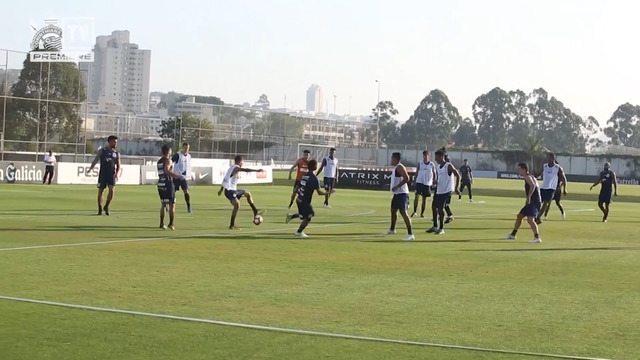 Vai, Corinthians - Preparação da equipe para enfrentar o Racing pela Copa Sul-americana